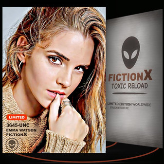 Emma Watson [ # 3645-UNC ] FICTION X TOXIC RELOAD / Limited Edition cards