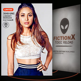 Lindsey Morgan [ # 3648-UNC ] FICTION X TOXIC RELOAD / Limited Edition cards
