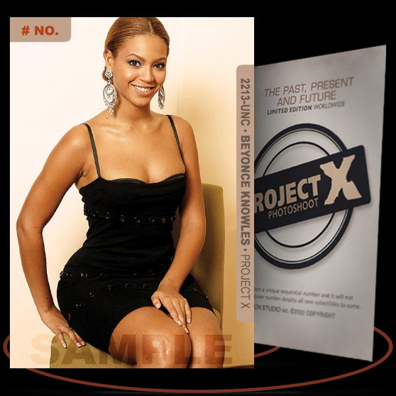 Beyonce Knowles [ # 2213-UNC ] PROJECT X Numbered cards / Limited Edition
