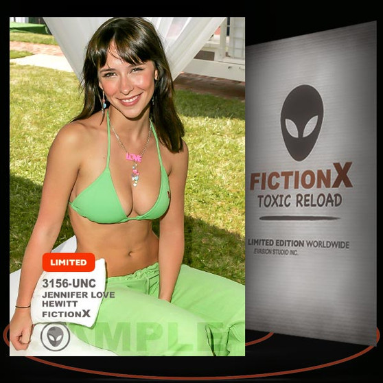 Jennifer Love Hewitt [ # 3156-UNC ] FICTION X TOXIC RELOAD / Limited Edition cards