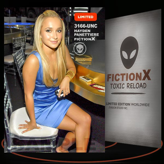 Hayden Panettiere [ # 3166-UNC ] FICTION X TOXIC RELOAD / Limited Edition cards