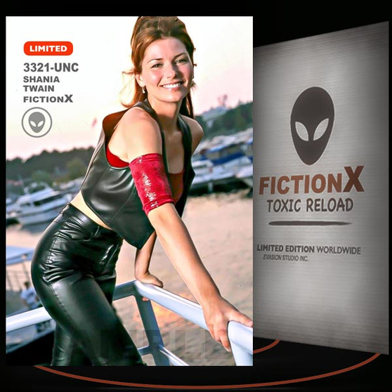 Shania Twain [ # 3321-UNC ] FICTION X TOXIC RELOAD / Limited Edition cards