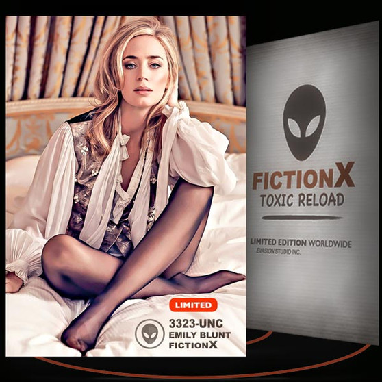 Emily Blunt [ # 3323-UNC ] FICTION X TOXIC RELOAD / Limited Edition cards