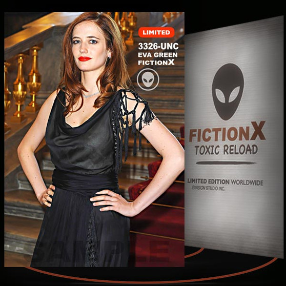 Eva Green [ # 3326-UNC ] FICTION X TOXIC RELOAD / Limited Edition cards