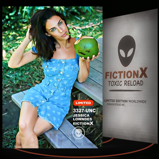 Jessica Lowndes [ # 3327-UNC ] FICTION X TOXIC RELOAD / Limited Edition cards
