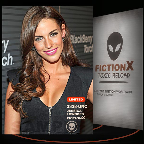 Jessica Lowndes [ # 3328-UNC ] FICTION X TOXIC RELOAD / Limited Edition cards