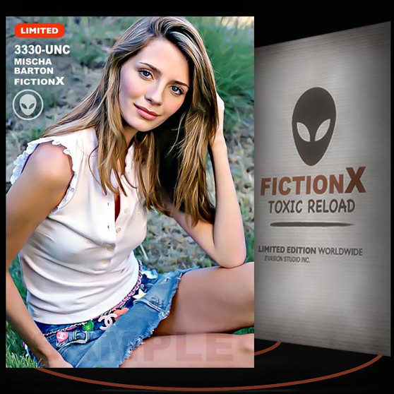 Mischa Barton [ # 3330-UNC ] FICTION X TOXIC RELOAD / Limited Edition cards