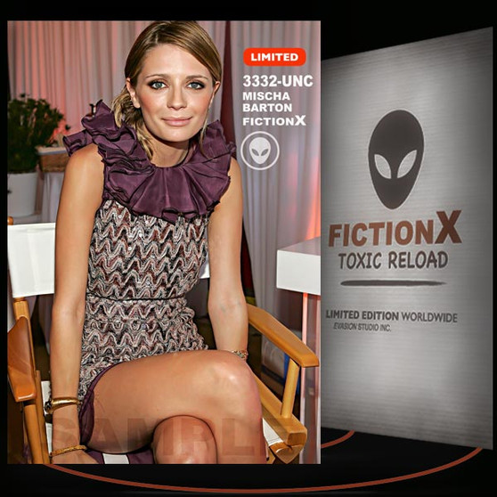 Mischa Barton [ # 3332-UNC ] FICTION X TOXIC RELOAD / Limited Edition cards