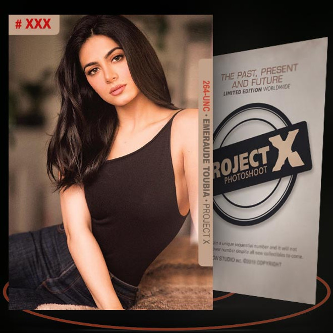 Emeraude Toubia [ # 264-UNC ] PROJECT X Numbered cards / Limited Edition
