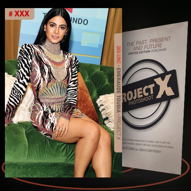 Emeraude Toubia [ # 265-UNC ] PROJECT X Numbered cards / Limited Edition