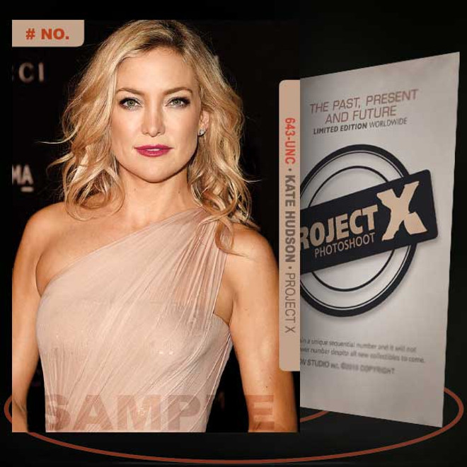 Kate Hudson [ # 643-UNC ] PROJECT X Numbered cards / Limited Edition