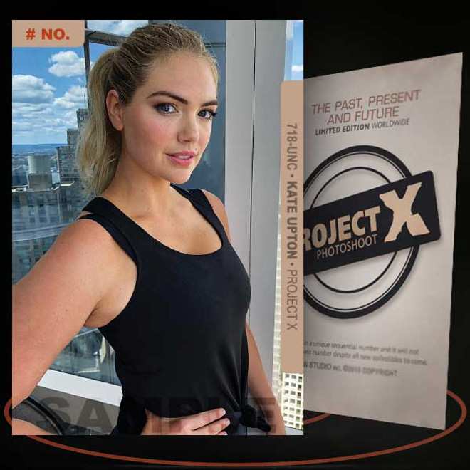 Kate Upton [ # 718-UNC ] PROJECT X Numbered cards / Limited Edition