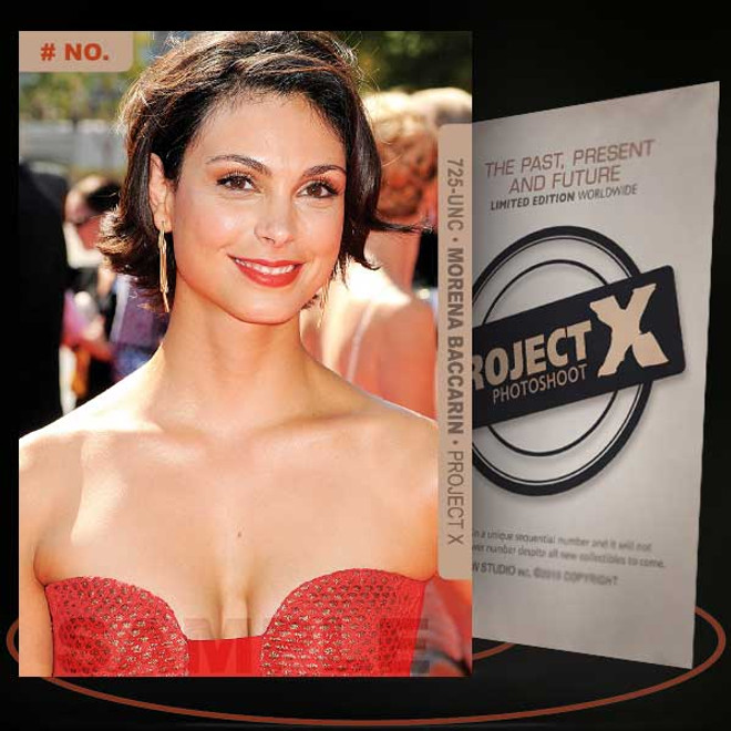 Morena Baccarin [ # 725-UNC ] PROJECT X Numbered cards / Limited Edition