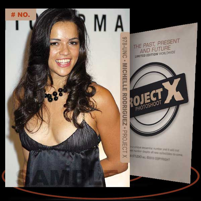 Michelle Rodriguez [ # 978-UNC ] PROJECT X Numbered cards / Limited Edition