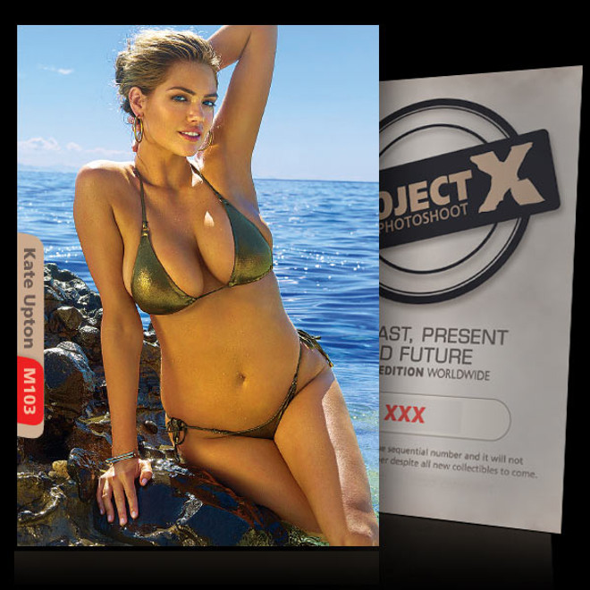 Kate Upton [ ID: M103 #XX ] PROJECT X LIMITED EDITION CARDS