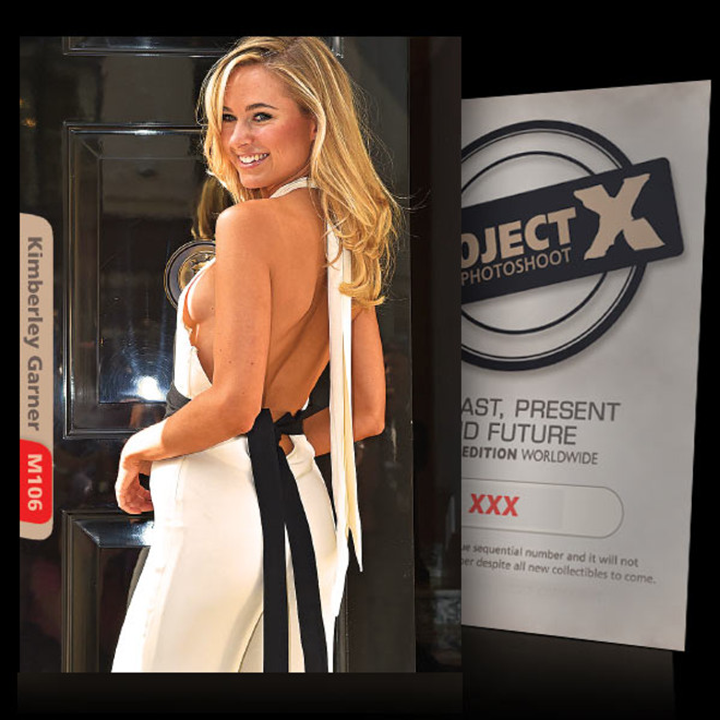 Kimberley Garner [ ID: M106 #XX ] PROJECT X LIMITED EDITION CARDS