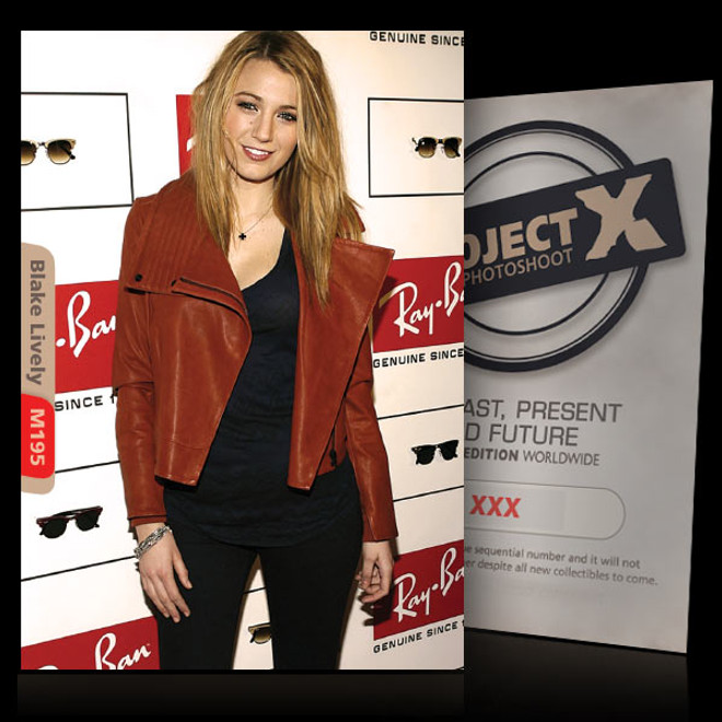 Blake Lively / Just Beautiful [ ID: M195 #XX ] PROJECT X LIMITED EDITION CARDS