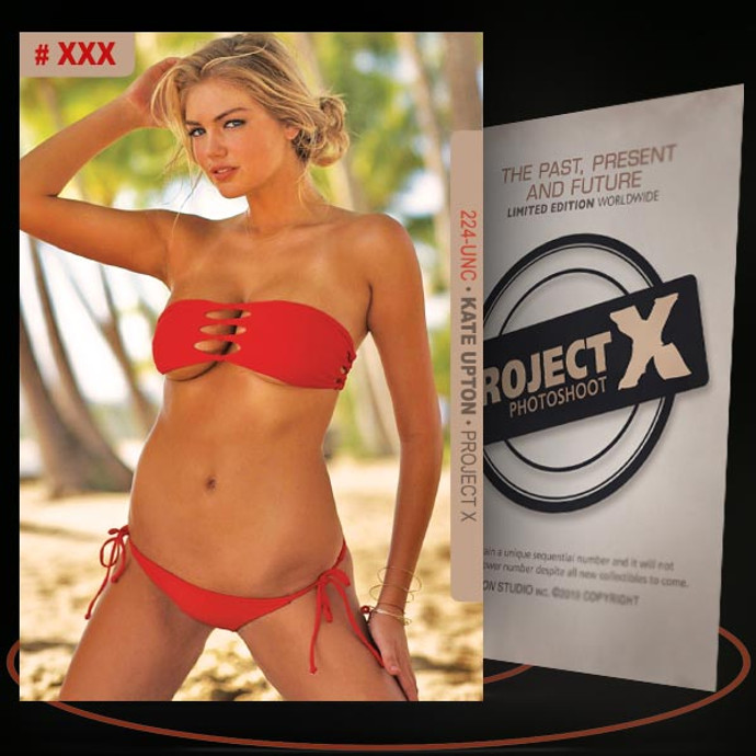 Kate Upton [ # 224-UNC ] PROJECT X Numbered cards / Limited Edition