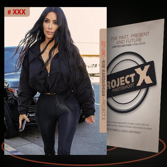 Kim Kardashian [ # 227-UNC ] PROJECT X Numbered cards / Limited Edition