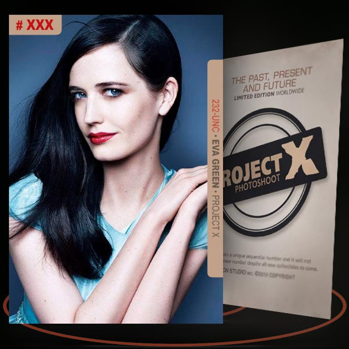 Eva Green [ # 232-UNC ] PROJECT X Numbered cards / Limited Edition