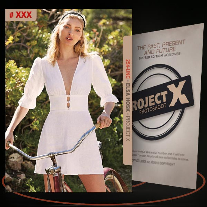 Elsa Hosk [ # 254-UNC ] PROJECT X Numbered cards / Limited Edition