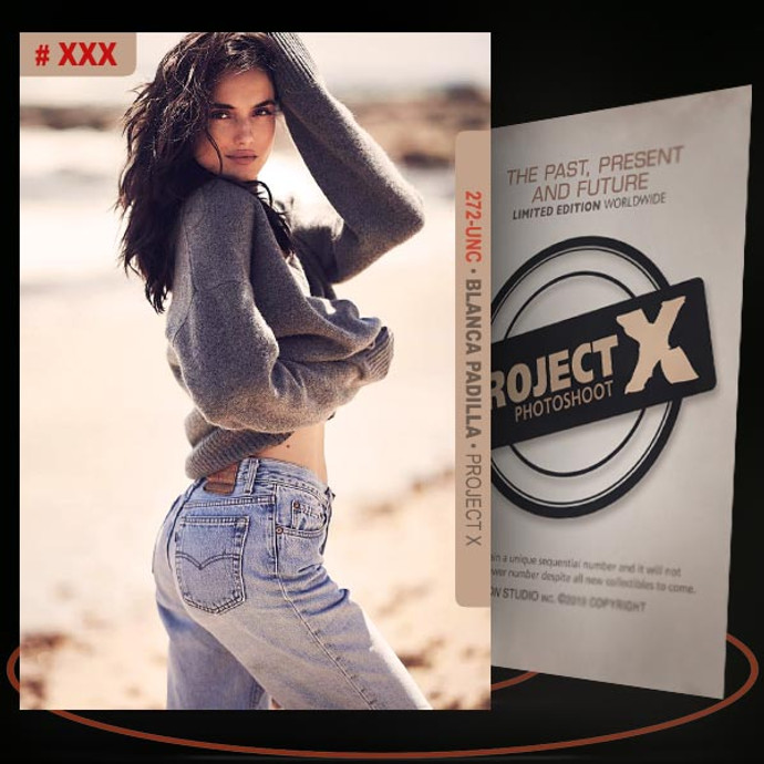 Blanca Padilla [ # 272-UNC ] PROJECT X Numbered cards / Limited Edition