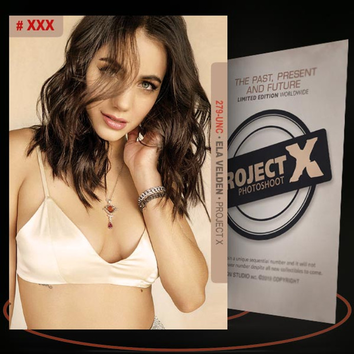 Ela Velden [ # 279-UNC ] PROJECT X Numbered cards / Limited Edition