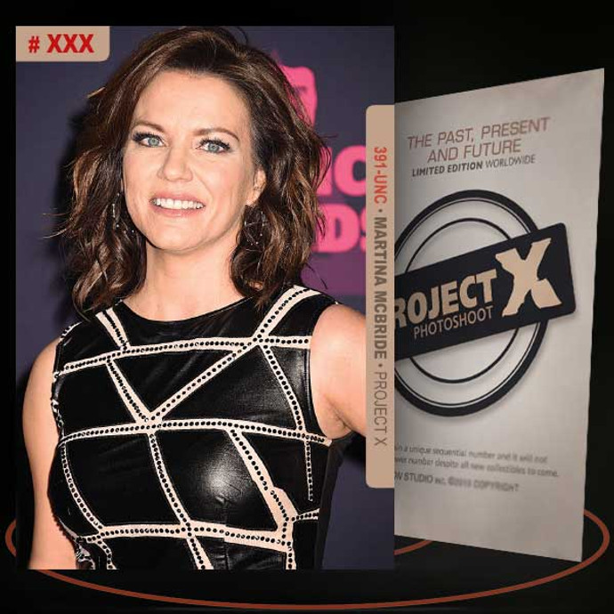 Martina McBride [ # 391-UNC ] PROJECT X Numbered cards / Limited Edition