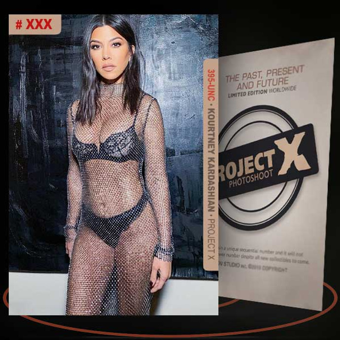 Kourtney Kardashian [ # 395-UNC ] PROJECT X Numbered cards / Limited Edition