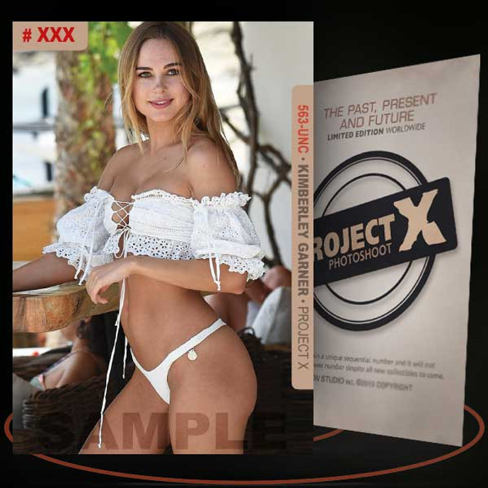 Kimberley Garner [ # 563-UNC ] PROJECT X Numbered cards / Limited Edition