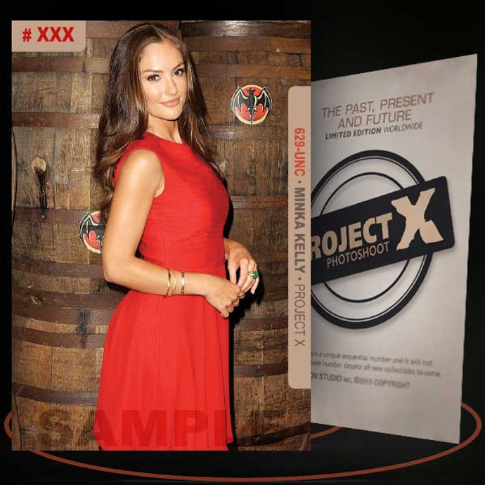 Minka Kelly [ # 629-UNC ] PROJECT X Numbered cards / Limited Edition