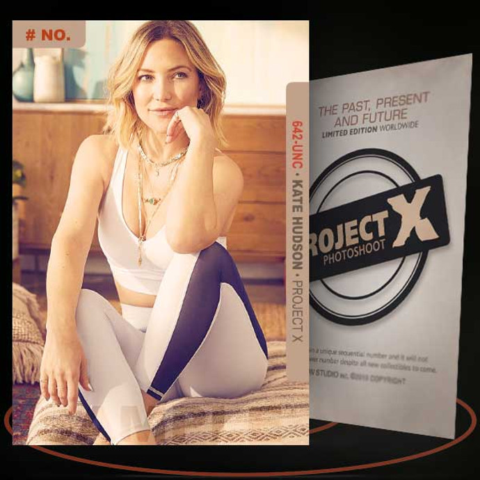 Kate Hudson [ # 642-UNC ] PROJECT X Numbered cards / Limited Edition