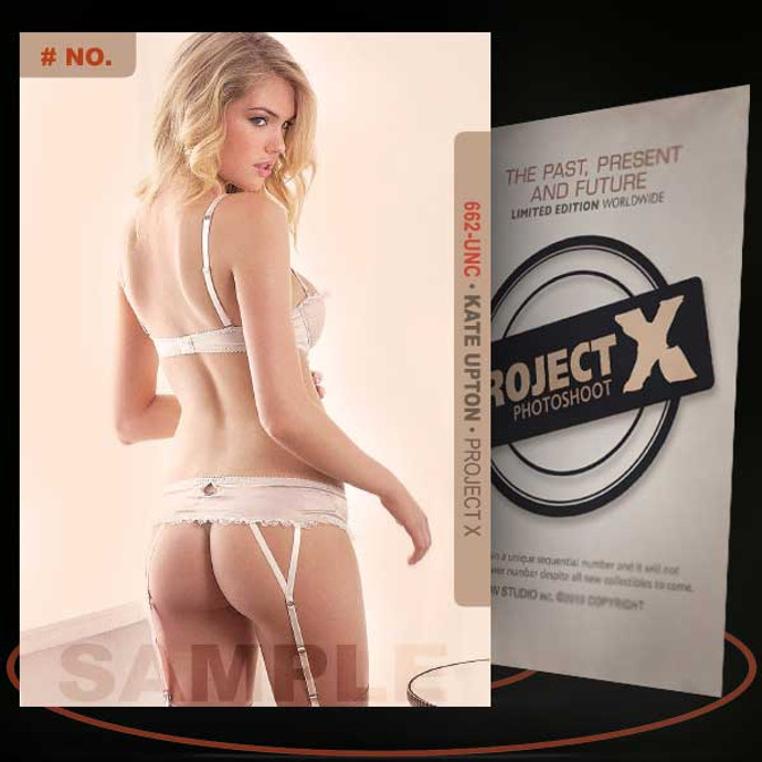 Kate Upton [ # 662-UNC ] PROJECT X Numbered cards / Limited Edition