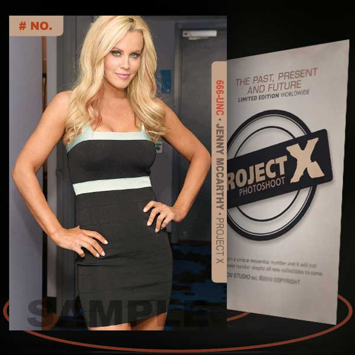 Jenny McCarthy [ # 666-UNC ] PROJECT X Numbered cards / Limited Edition