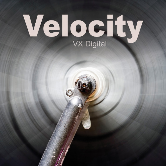 Velocity /  High Quality 1280 × 720 Mp4 Video Clip by VX Digital Productions 2019