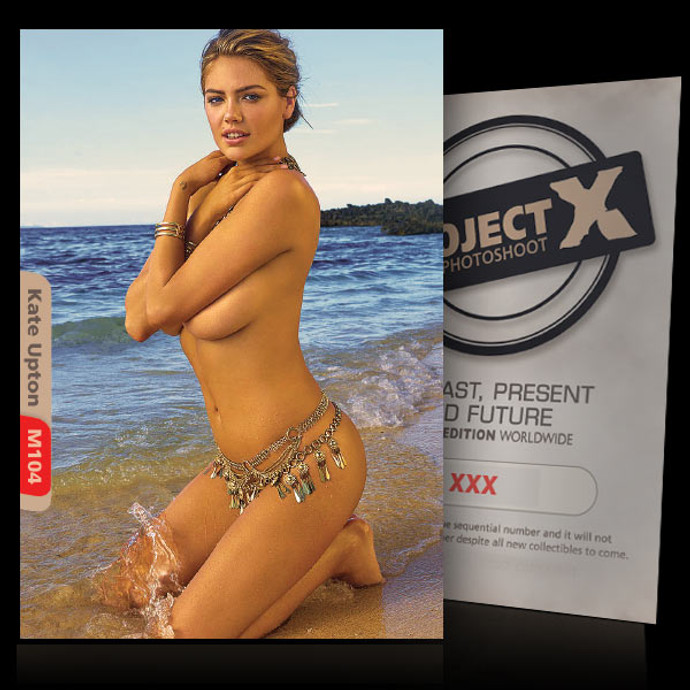 Kate Upton [ ID: M104 #XX ] PROJECT X LIMITED EDITION CARDS