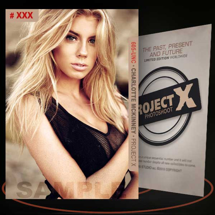 Charlotte Mckinney [ # 605-UNC ] PROJECT X Numbered cards / Limited Edition