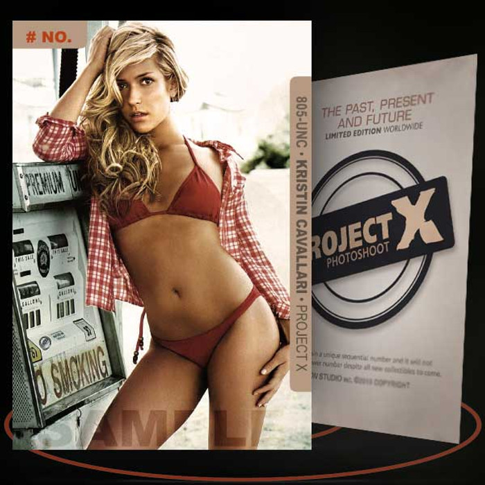 Kristin Cavallari [ # 805-UNC ] PROJECT X Numbered cards / Limited Edition