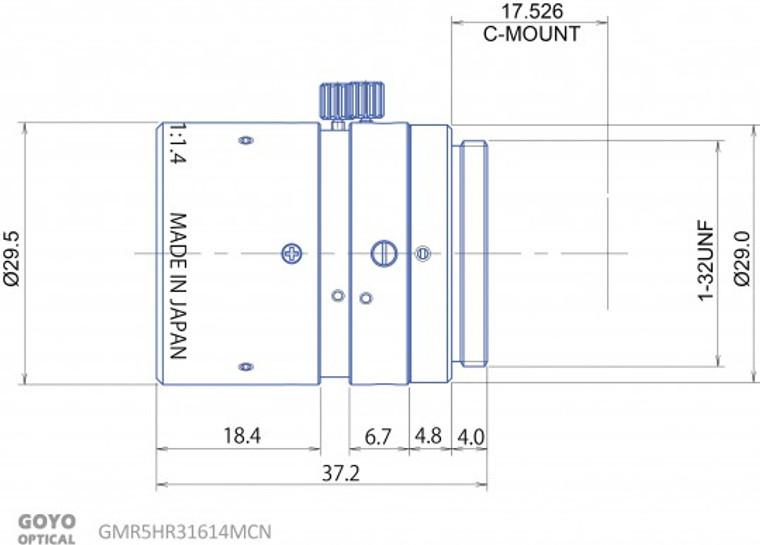 Goyo Optical GMR531614MCN