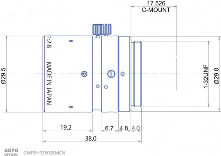 Goyo Optical GMR5HR35028MCN