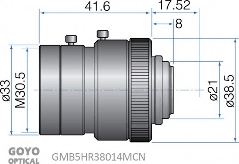 Goyo Optical GMB5HR38014MCN