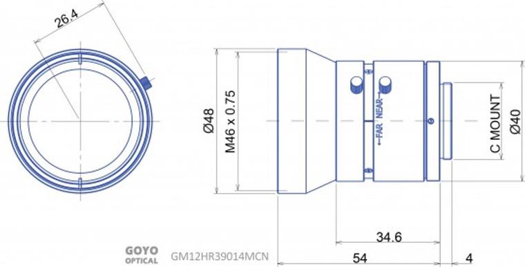 Goyo Optical GM12HR39014MCN