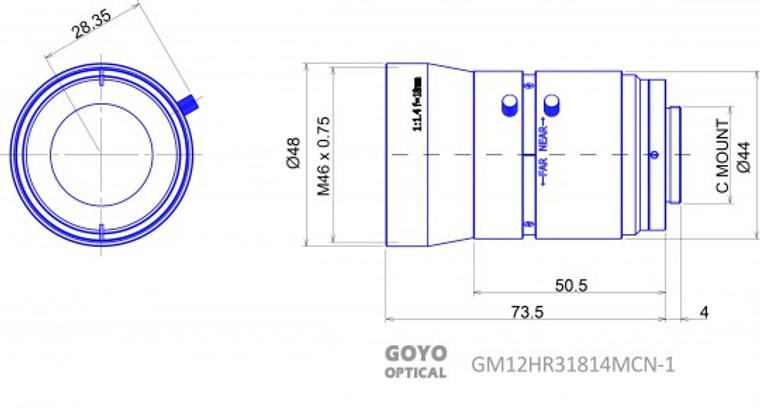 Goyo Optical GM12HR31814MCN