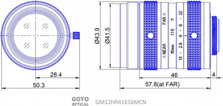 Goyo Optical GM12HR41616MCN