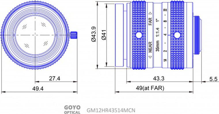 Goyo Optical GM12HR43514MCN