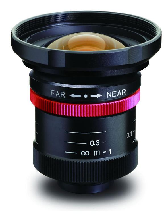"Kowa LM8HC-V 1"" 8mm F1.4/F2.8/F4/F8 C-Mount Lens, 2 Megapixel Rated, Ruggedized"