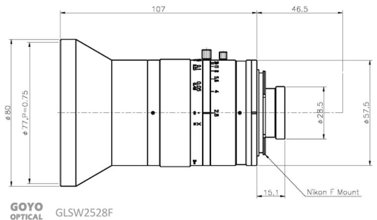 Goyo Optical GLSW2528F
