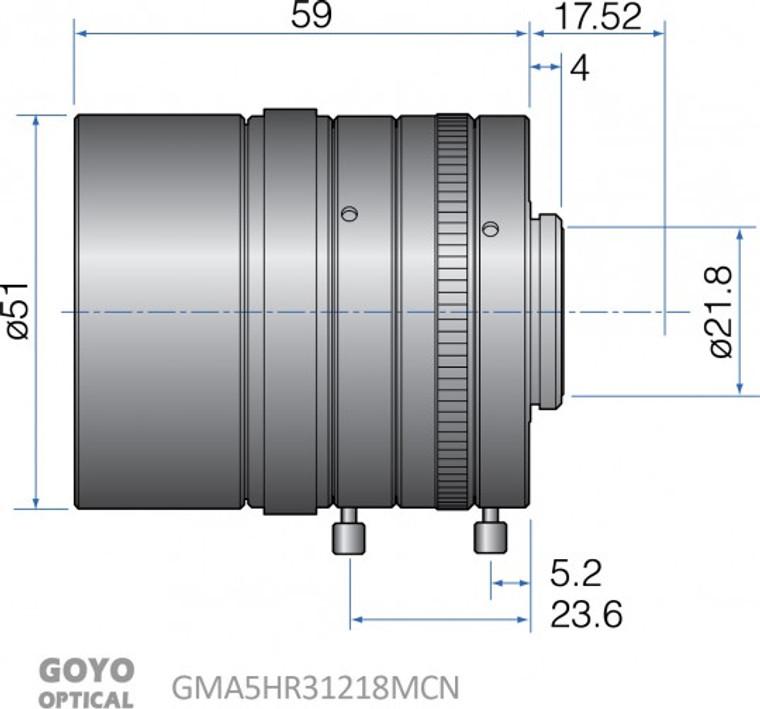 Goyo Optical GMA5HR31218MCN