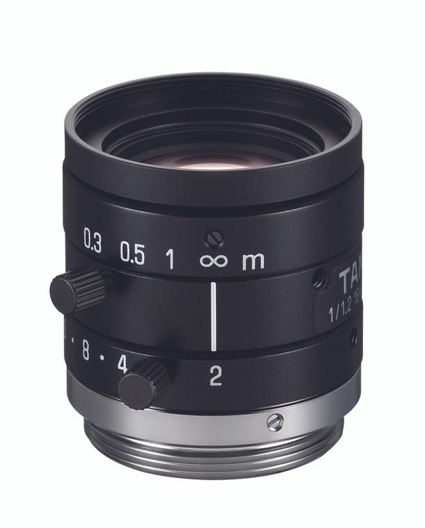 """Tamron M112FM161/1.2"""" 16mm F2.0 Manual Iris C-Mount, 5 Megapixel Rated"""