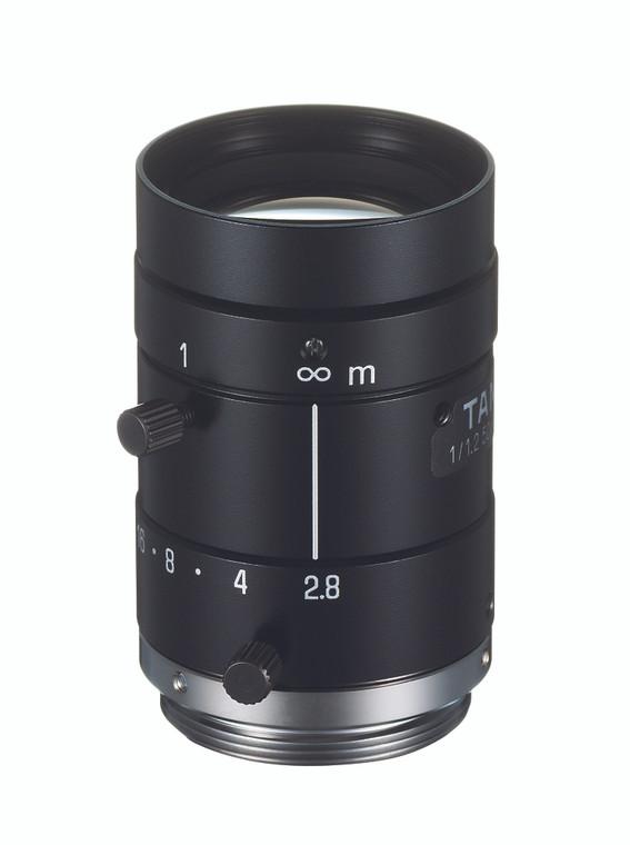 "Tamron M112FM50 1/1.2"" 50mm F2.8 Manual Iris C-Mount Lens, Compact Size, 5 Megapixel Rated"